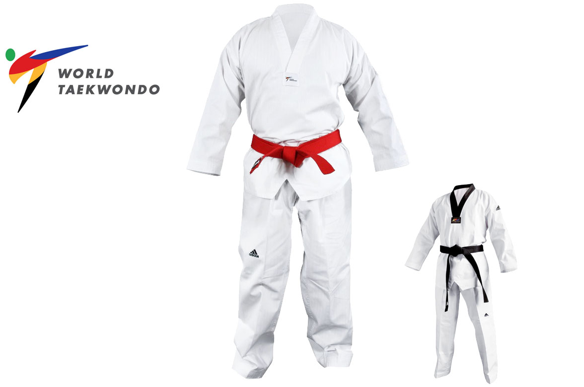 Dobok Champion II, WTF ADITCH02, Adidas DragonSports.eu