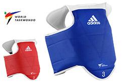 Plastron Taekwondo WTF, Enfant - ADITKP01, Adidas