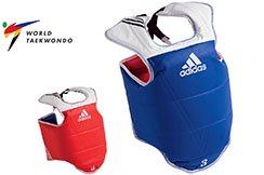 Plastron Taekwondo WTF, Adulte - ADITAP01, Adidas