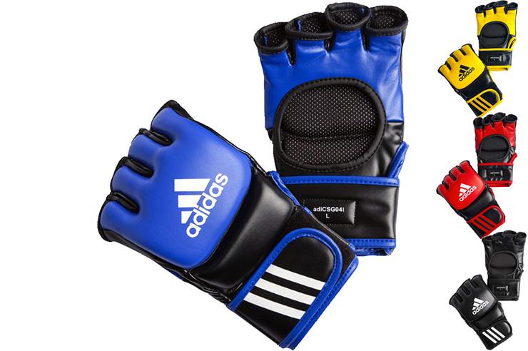 Gants Combat Libre Haute Densité Cuir, Adidas ADICSG041