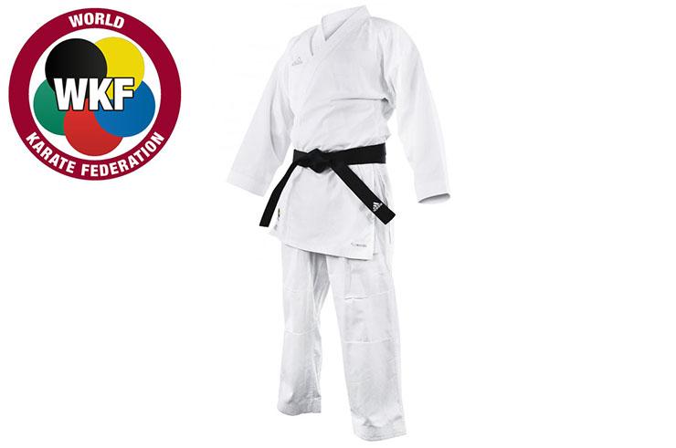 Kimono de Karaté WKF, Sans Bandes - K220KF, Adidas