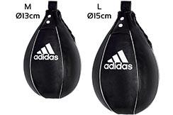Poire De Vitesse - Cuir Style US ''adiBAC09''- Ø13/15cm, Adidas