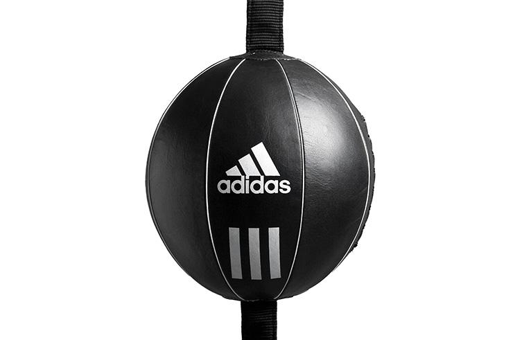 Balón doble elástico boxeo, Cuero - ADIBAC111, Adidas