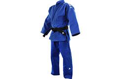 Kimono de Judo, Millenium - Azul J990B, Adidas