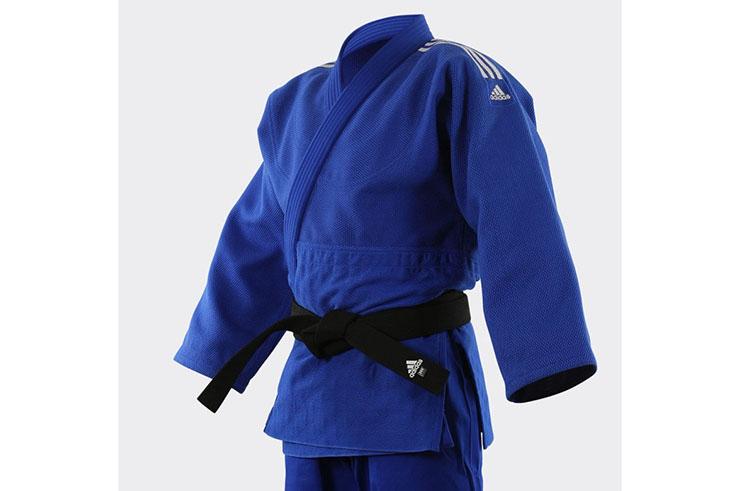 Kimono de Judo, Millenium - Bleu J990B, Adidas