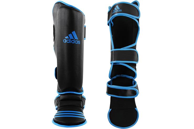 Espinilleras y Protector Pies, Azul - ADIGSS012, Adidas