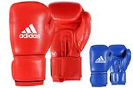 Gants AIBA Cuir Boxe Amateur, Adidas AIBAG1