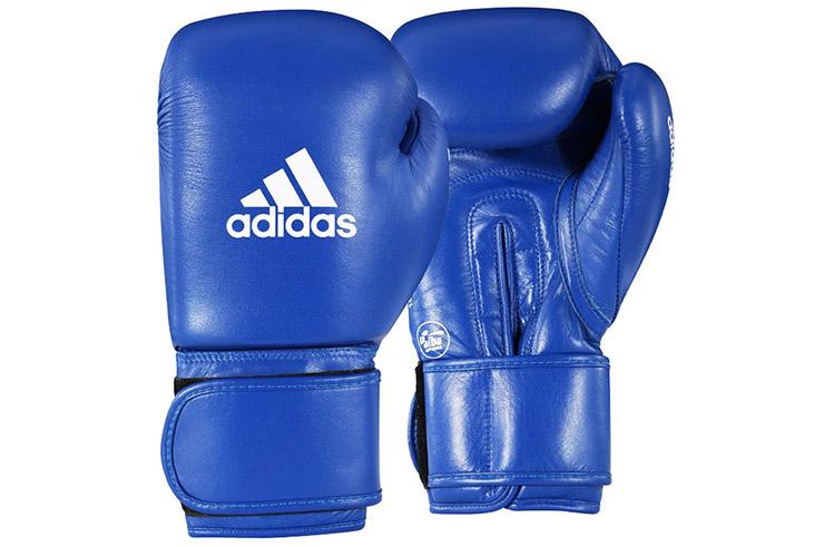 Guantes AIBA Cuero Boxeo Aficionado, Adidas AIBAG1