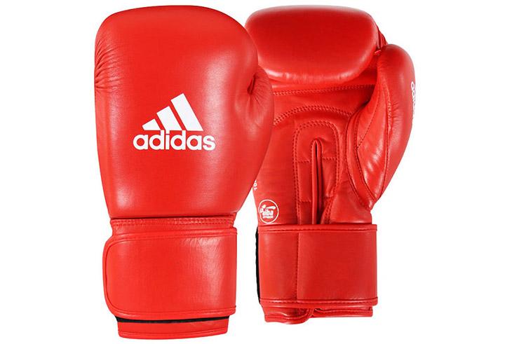 Boxing Gloves Leather, AIBA - AIBAG1, Adidas