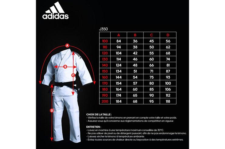 Judo Kimono Club, Initiation - J350, Adidas