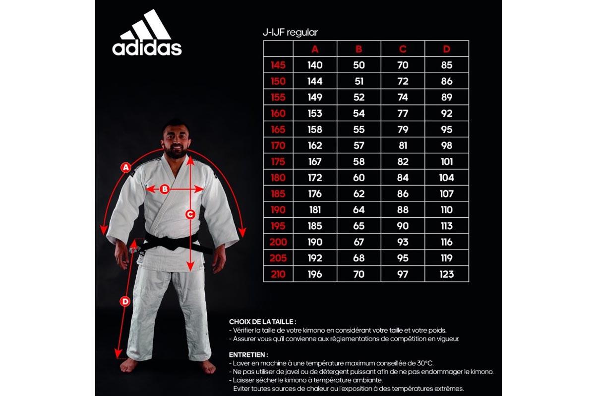 adidas IJF Judo Gi Champion 2 white 150