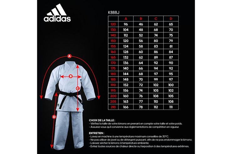 Karate Kimono WKF, Kugai Japonese - K888J, Adidas