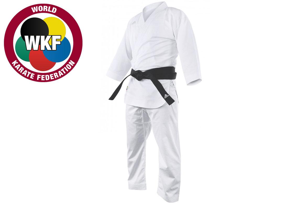 Me sorprendió pánico ornamento  Karate Kimono WKF - Adizero K0, Adidas - DragonSports.eu