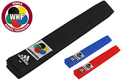 Belt for Karate WKF, Elite - ADIB242K, Adidas