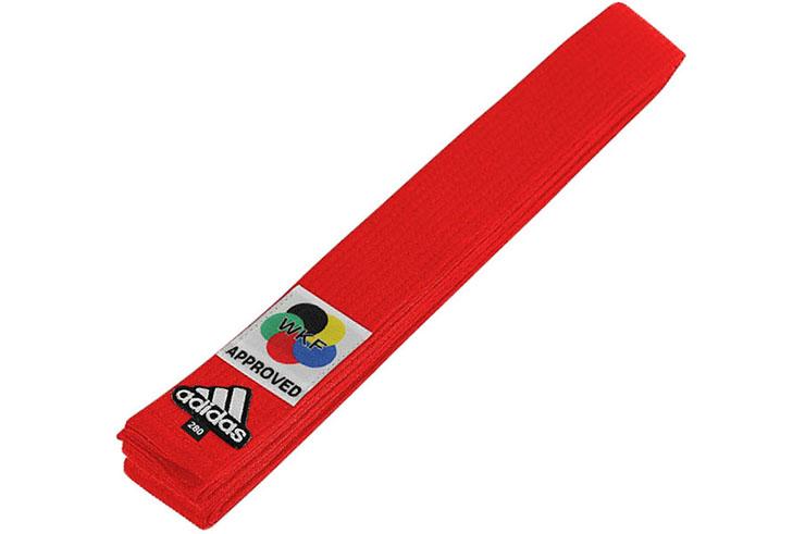 Cinturón Karate WKF, Elite - ADIB242K, Adidas