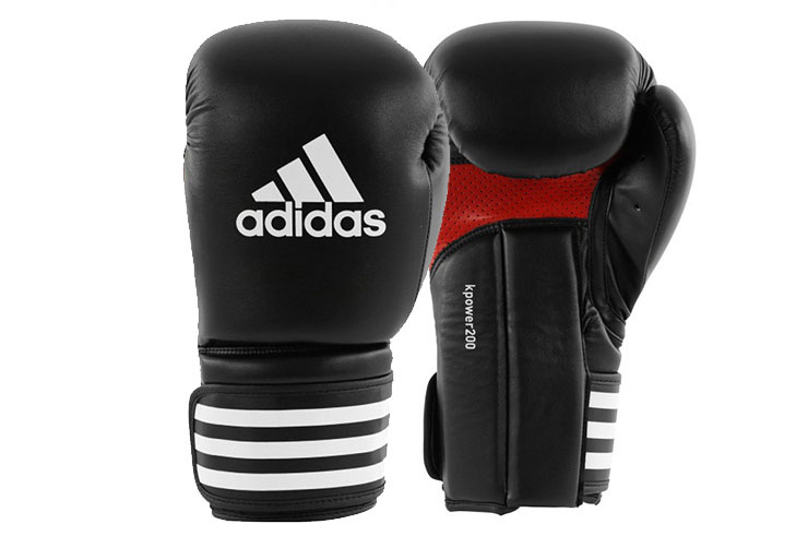 gants de kick boxing pu kpower 39 39 adikp200 39 39 adidas. Black Bedroom Furniture Sets. Home Design Ideas