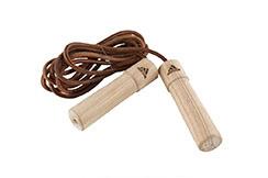 Corde à Sauter, Nylon & Poignées bois - ADI1107, Adidas