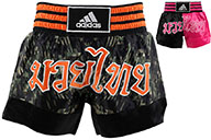 Pantalones cortos Boxeo Thai - ADISTH03, Adidas