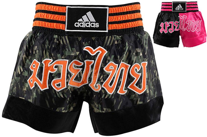 Short boxe thaï, ADISTH03, Adidas