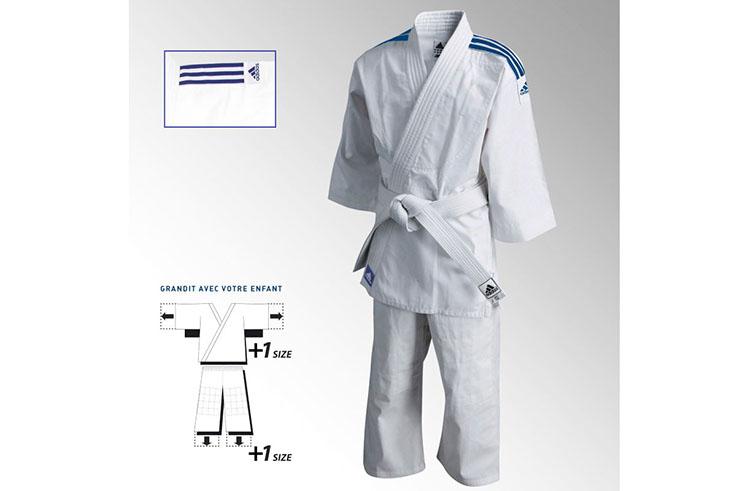 [Destock] Kimono de judo - Tamaño Evolución 150-160 '' J180E '', Adidas