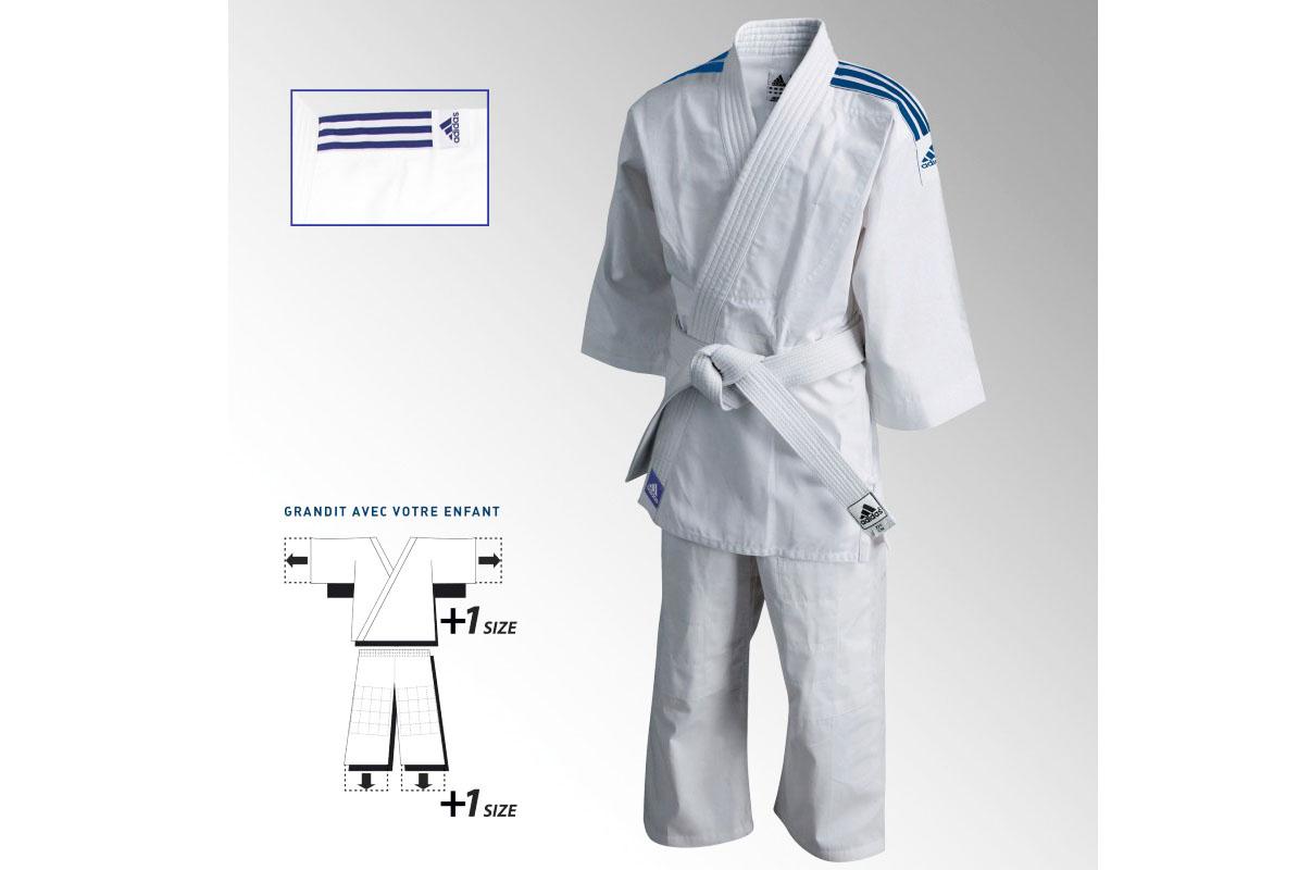 Garganta Llevar laringe  End of series] Judo Kimono - Evolution J180E , Adidas ...