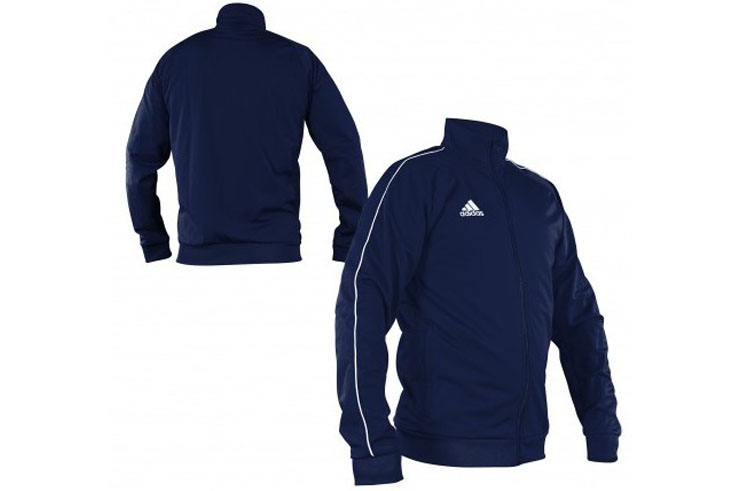 Chaqueta con Zip (adulto), Slim - CV3563, Adidas