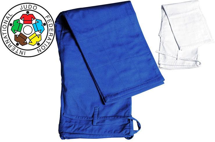 Pantalones de Judo IJF - JT275, Adidas