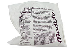 Compresas frías de instantáneo, reutilizable