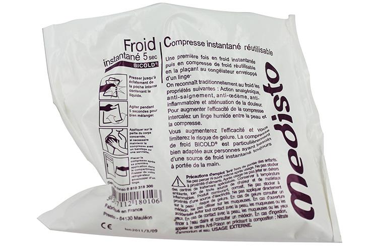 Compresse De Froid Instantané, Réutilisable
