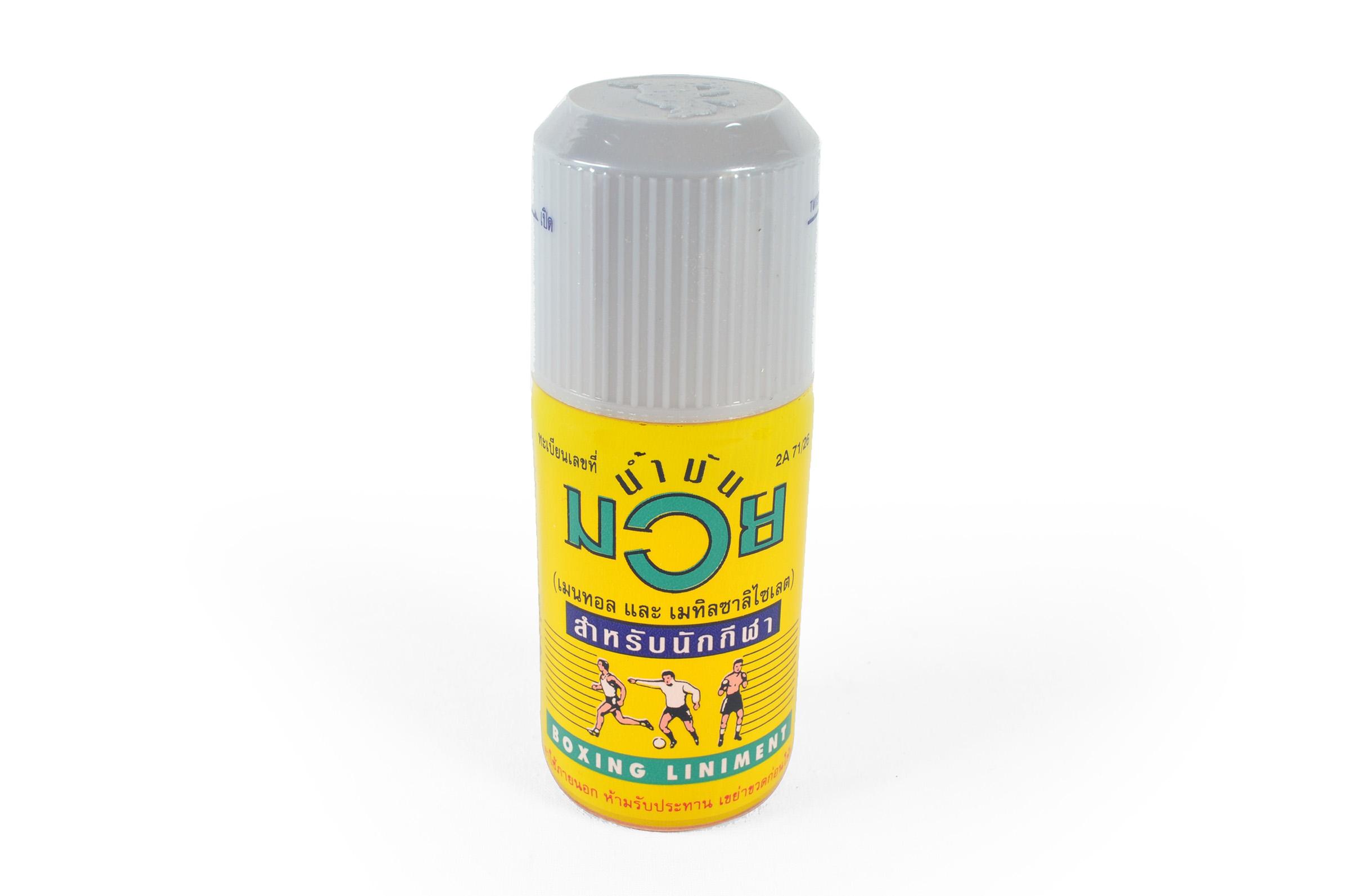 Liniment, Huile Chauffante Thaï, 120ml