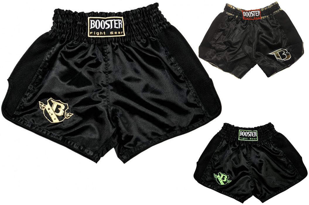 "Short de Muay Thaï ""TBT Dark Edition"", Booster"