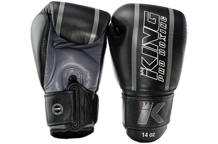 Gants de Boxe Cuir Elite, King