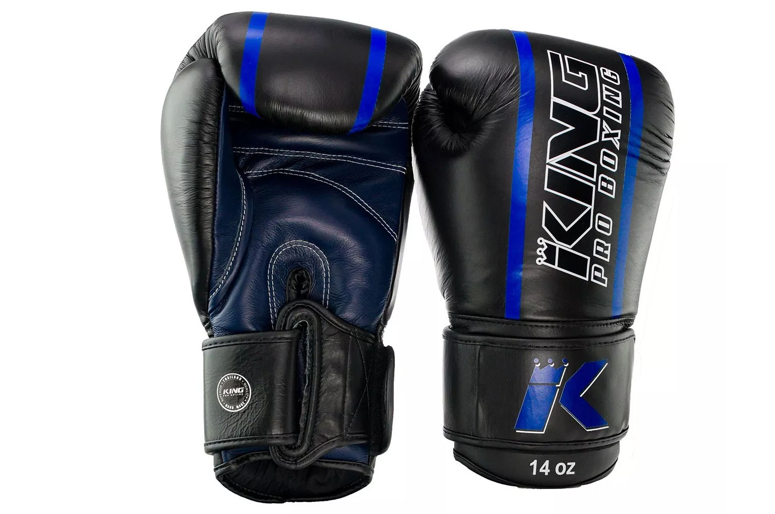 gants de boxe cuir elite king. Black Bedroom Furniture Sets. Home Design Ideas