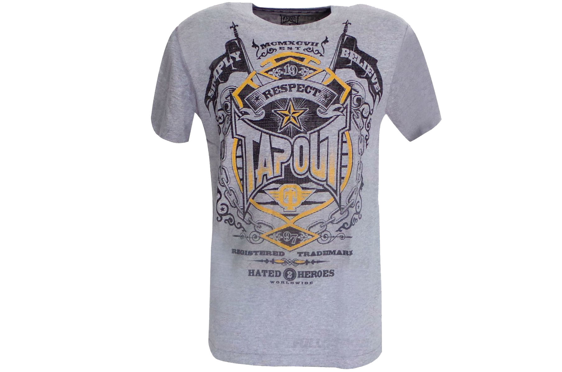 T-shirt Gris ''Respect'', Tapout