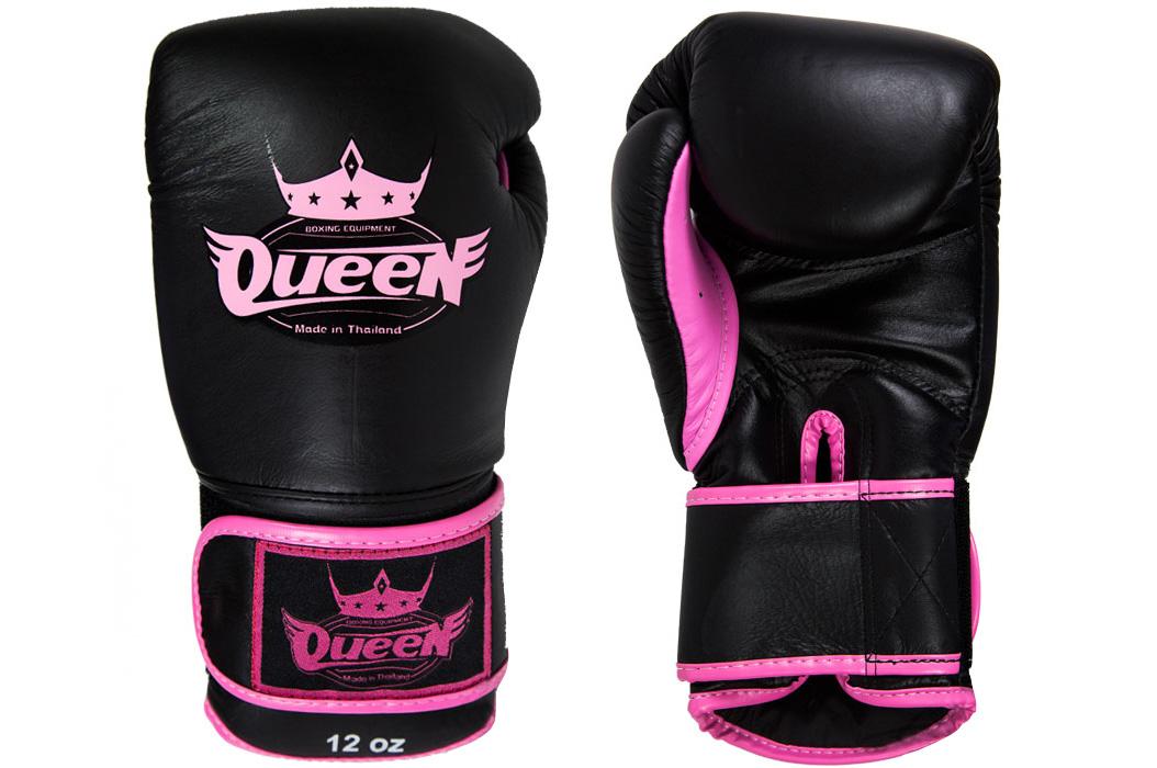 gants de boxe en cuir bgq 2 queen. Black Bedroom Furniture Sets. Home Design Ideas
