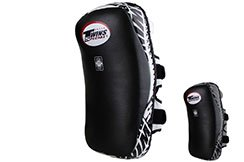 Curved Muay Thaï Leather Pads TKP, Twins (Pair)