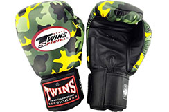 """Leather Boxing Gloves """"FANTASY 7"""", Twins"""