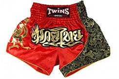 Pantalones cortos de Muay Thai - TTBL 70 Fancy, Twins