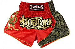 Short de Muay Thai «TTBL 70 Fancy», Twins