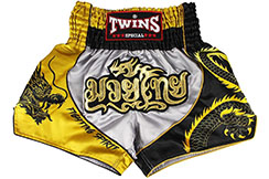 Short de Muay Thaï TTBL 74 Fancy, Twins