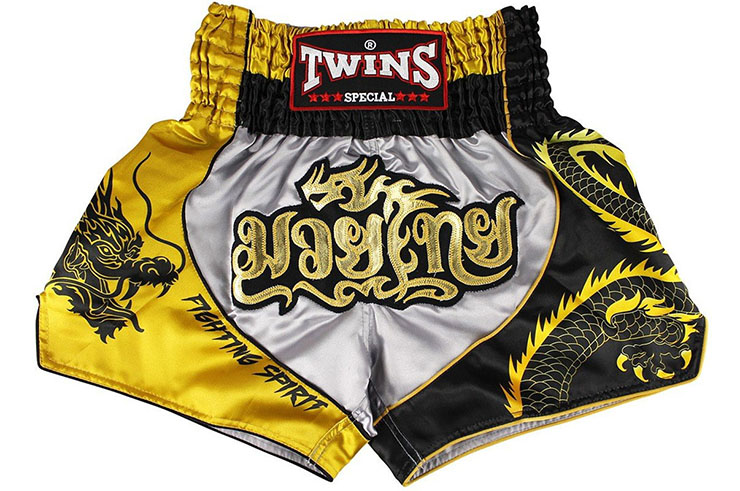 Muay Thai Boxing Shorts - TTBL 74 Fancy, Twins