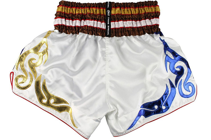 Short de Muay Thaï TTBL 76 Fancy, Twins