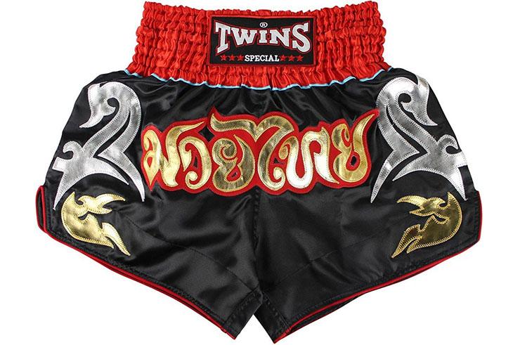 Muay Thai Boxing Shorts - TTBL 77 Fancy, Twins