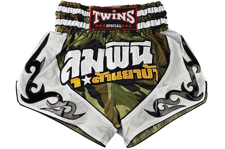 Muay Thai Boxing Shorts - TTBL 78 Fancy, Twins