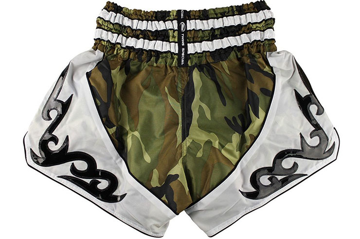 Short de Muay Thaï TTBL 78 Fancy, Twins