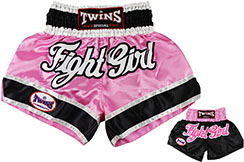 Short de Muay Thai TTBL 012, Twins