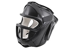 Head guard with mask - Club Line, Kwon