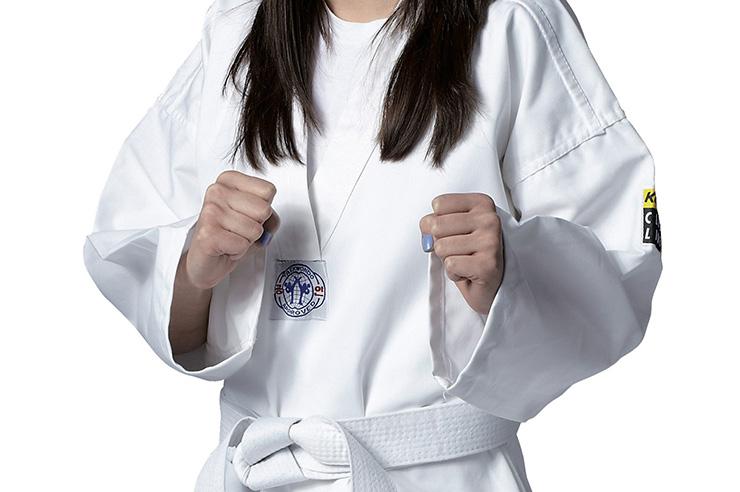 Taekwondo Dobok WTF, Clubline - White colar, Kwon