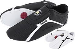 Chaussures d'entraînement, Noires - Light Kick, Kwon