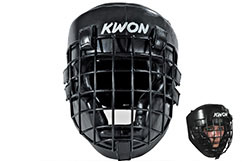 Metal Mesh Helmet black Iron, Kwon